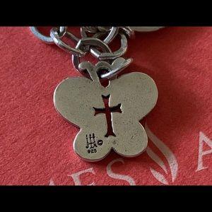 James Avery butterfly 🦋 cross ✝️ charm